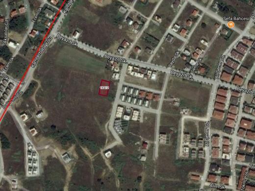 Hacımehmet ovası toki sırtlarında 956.85 m2 %30 2 kat  imarlı villalık arsa