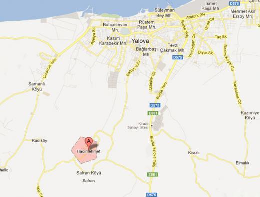 Yalova Hacımehmet Köyünde Satılık Tarla